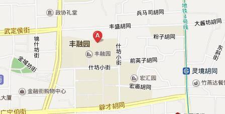 丰铭国际大厦地图 - 丰铭国际大厦在哪里?