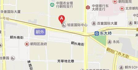 山水广场(铂宫国际中心)地图 - 山水广场(铂宫国际中心)在哪里?