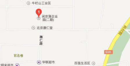 闽京蒲企业园研发楼地图 - 闽京蒲企业园研发楼在哪里?